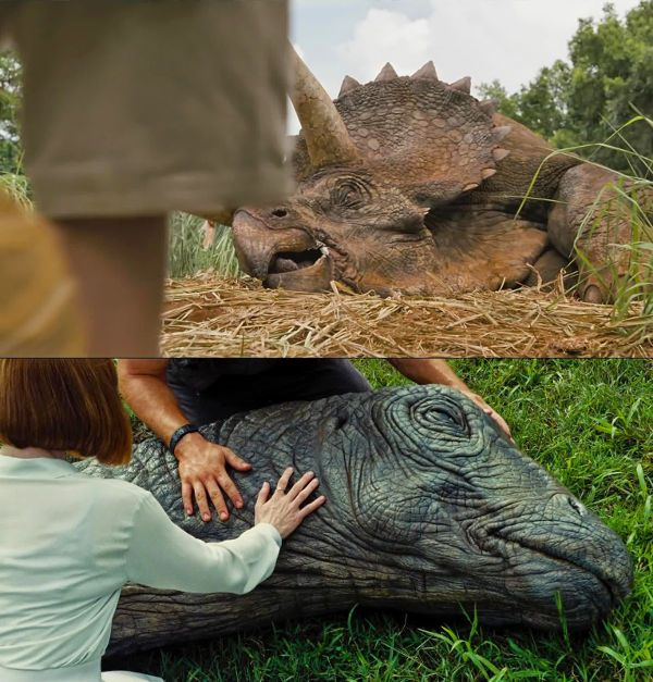 Jurassic world with chris pratt and omar sy the fourth film of the saga - Film de dinosaure jurassic park ...