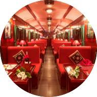 Luxurious train