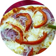 Pizza Capsicum