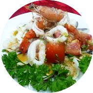 Salade crustaces